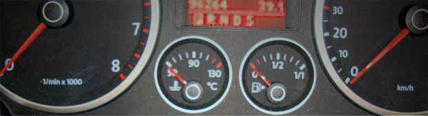 Tachoreparatur für VW Fahrzeuge