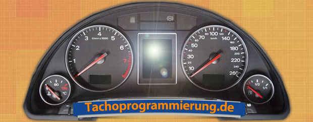Tacho reparieren beim Audi A4 preiswert und gut