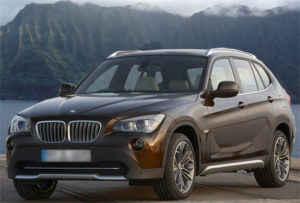 Tachoeinstellung am BMW X1
