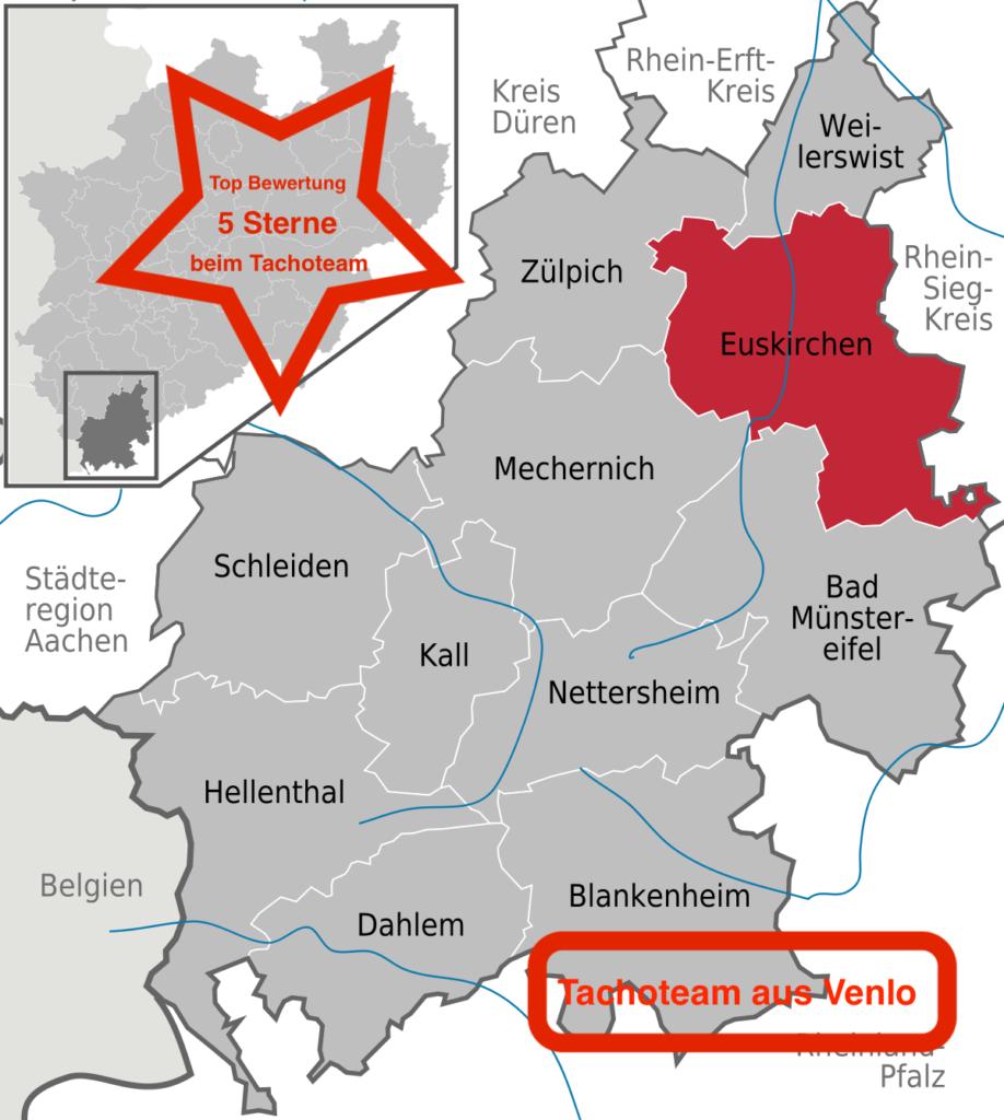 Tachoeinstellung in Euskirchen