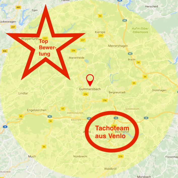 Tachoeinstellung in Gummersbach