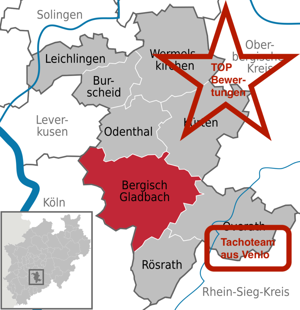 Tachoeinstellung Bergisch Gladbach