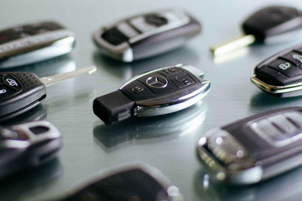 Mehrere Autoschlüssel