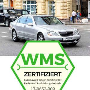 Mercedes W211 mit Zertifikat