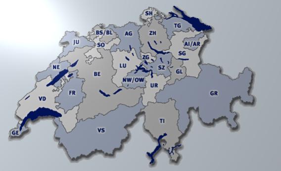 Tachojustierung Schweiz Kantone