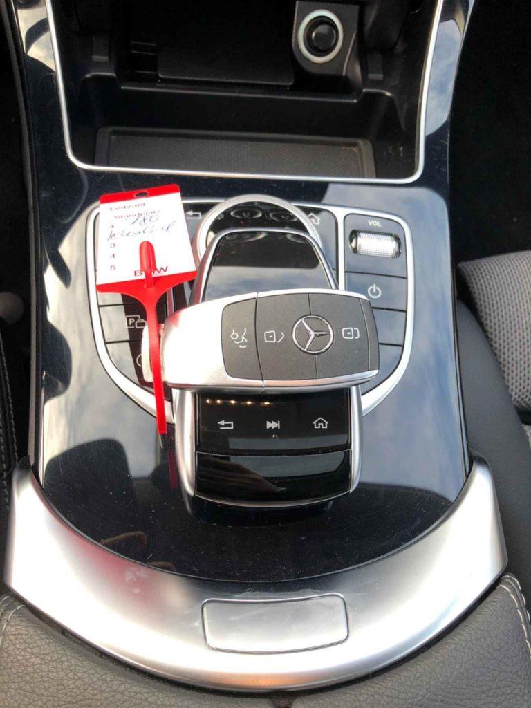 Mercedes W205 Schlüssel nachmachen