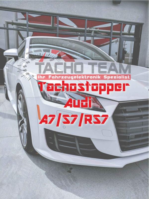 Tachofilter Audi A7 S7 RS7