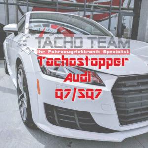 Tachofilter Audi Q7 SQ7