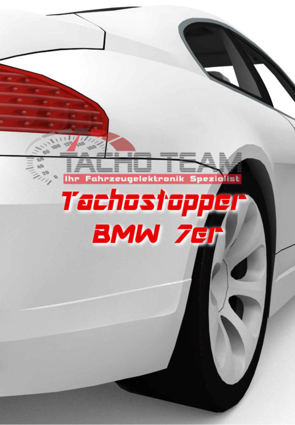 Tachofilter BMW 7er
