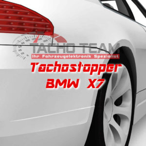 Tachofilter BWM X7