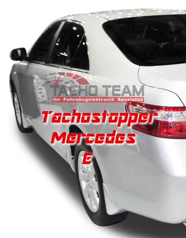 Tachofilter Mercedes E-Klasse