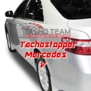 Tachofilter Mercedes V-Klasse