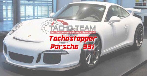 Tachofilter Porsche 991