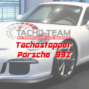 Tachofilter Porsche 992