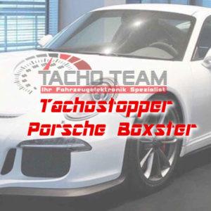 Tachofilter Porsche Boxster