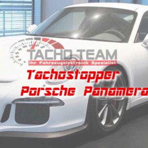 Tachofilter Porsche Panamera