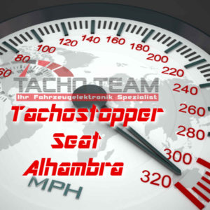 Tachofilter Seat Alhambra