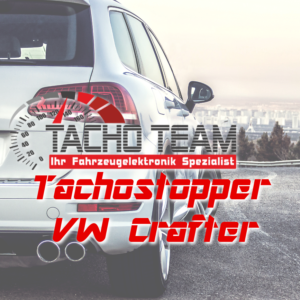 Tachofilter VW Crafter