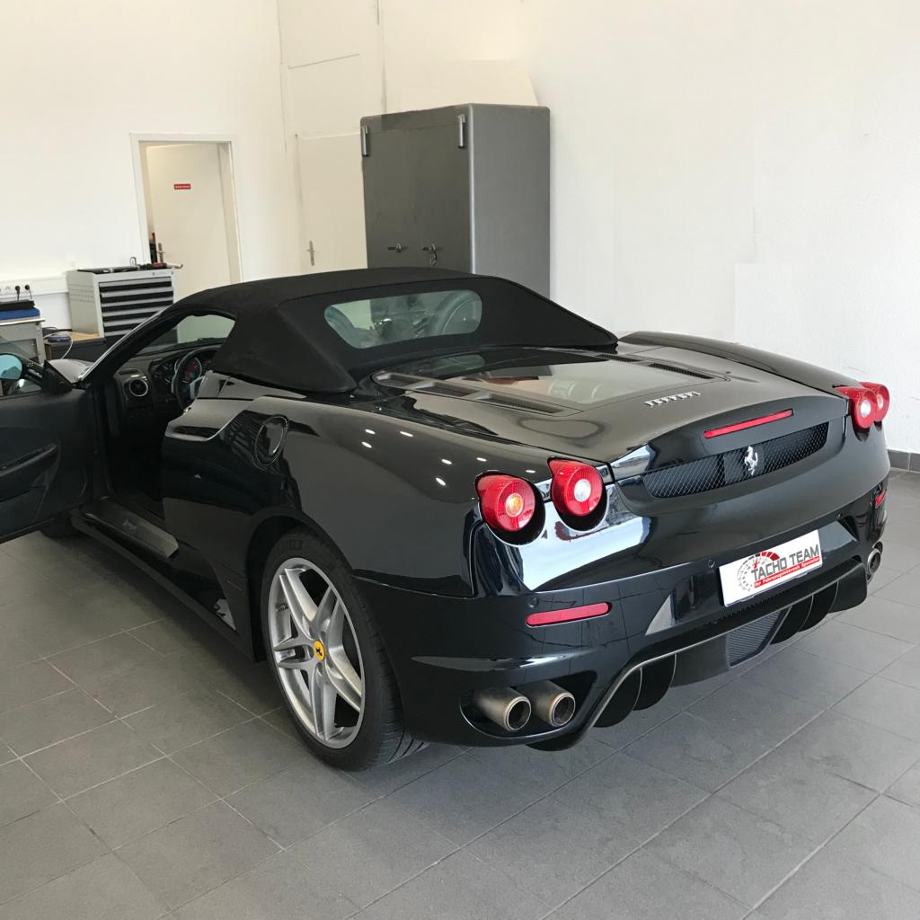Tachojustierung Ferrari